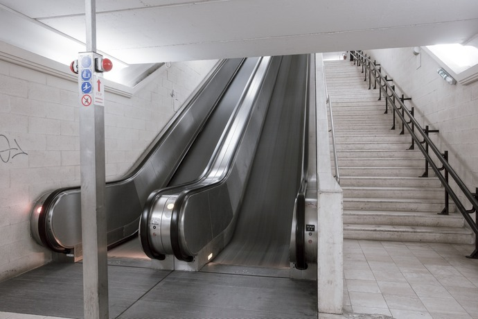 """San Francesco"" escalator – eastern docking Area"