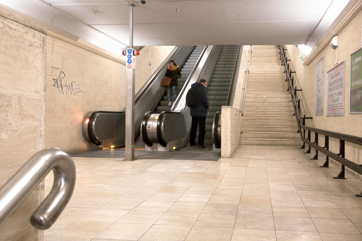 """San Francesco"" escalator – eastern docking Area"