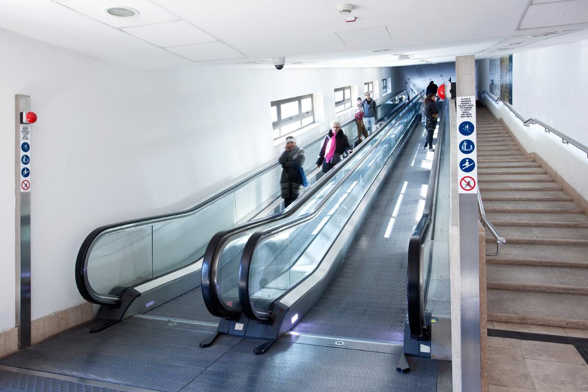 """Train Station – """"Antiporto"""" – """"Porta Camollia"""" Escalator"""