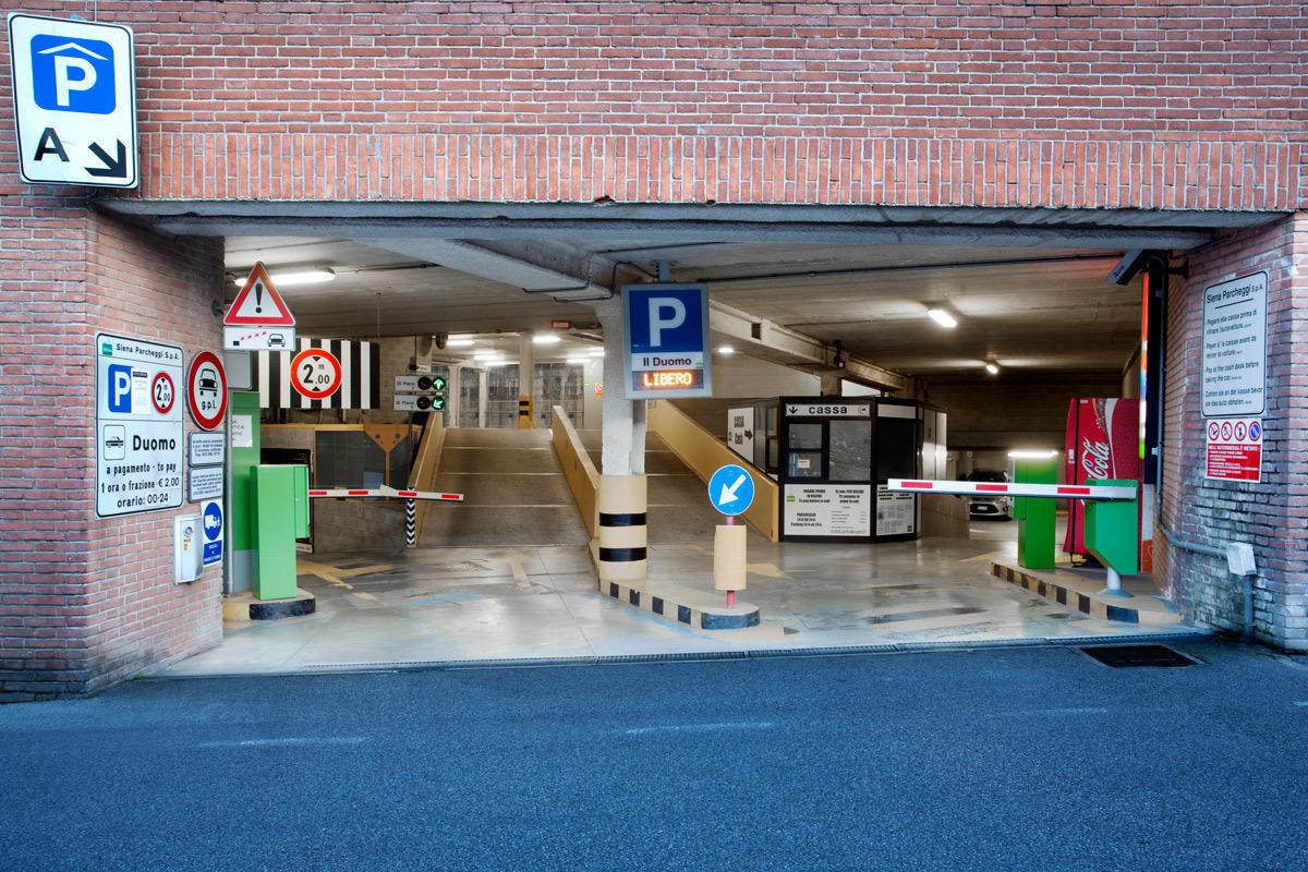 """The """"Duomo"""" Car Park"""