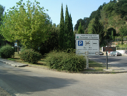 """Fagiolone"" Parking Area"